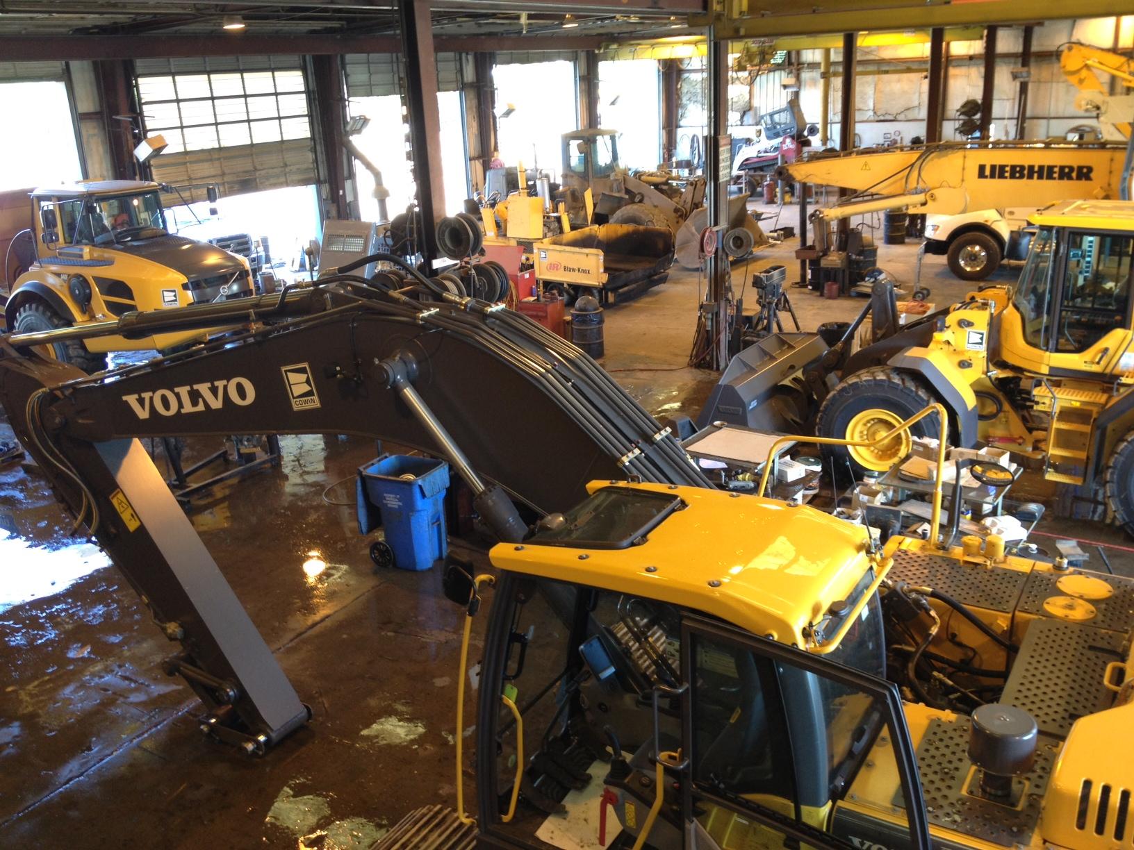 Heavy Equipment Maintenance : Heavy construction equipment service in al ga and fl