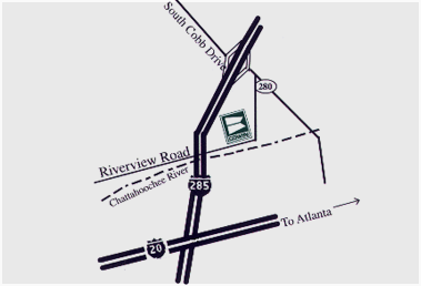Atlanta, GA directions to Cowin Equipment Company