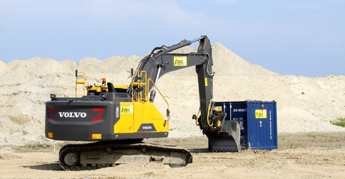Volvo e-series excavators