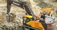 Volvo Unveils Newest, Largest Excavator in North America – the EC750E