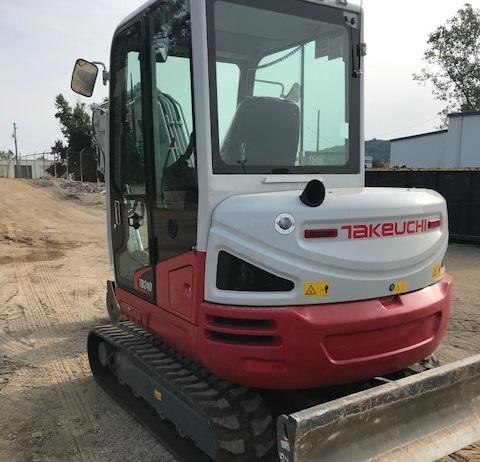 TAKEUCHI TB240 COMPACT EXCAVATOR